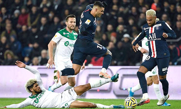 Icardi Hat Trick Vs Saint Etienne Fires Psg Into League Cup Last 4