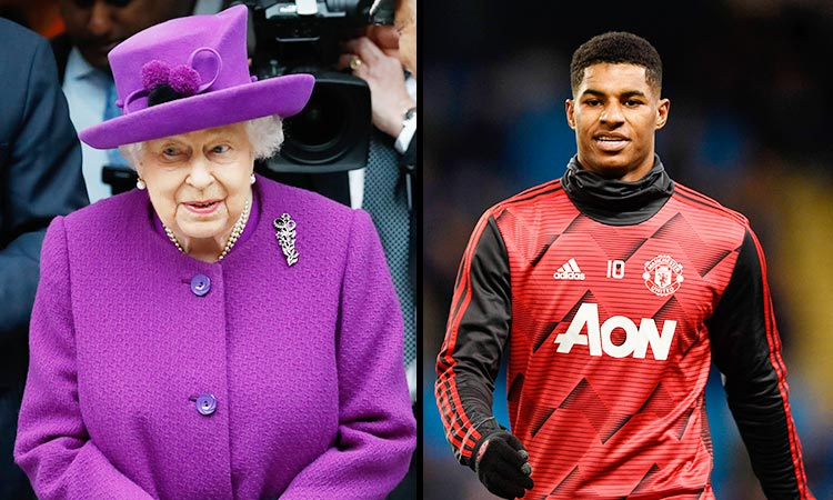 Queen Elizabeth Honours Footballer Marcus Rashford For Child Food Poverty Campaign Gulftoday