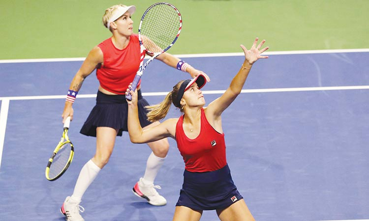 Belarus defeat Netherlands  to join US at Fed Cup final