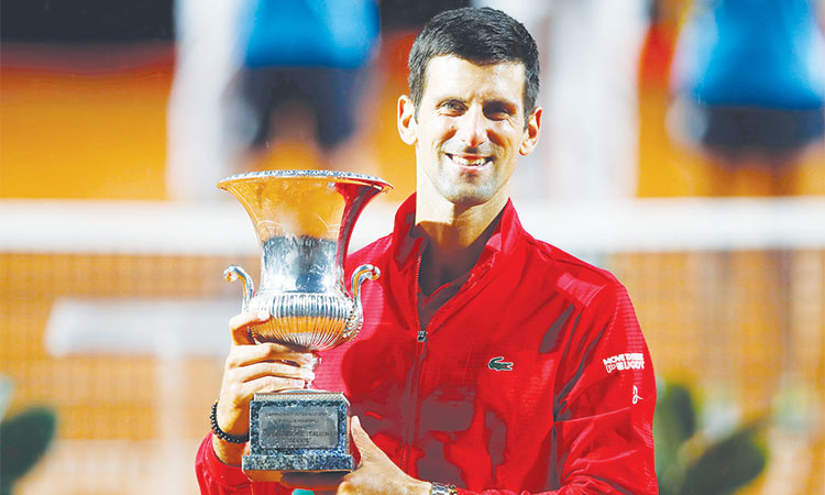 Djokovic Clinches Fifth Italian Open Title For Record 36th Masters Crown Gulftoday