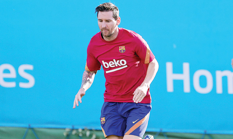 Barca VP: Messi's criticism of club has been taken into consideration